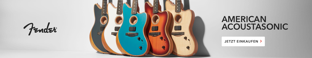 Fender Acoustasonic Guitars