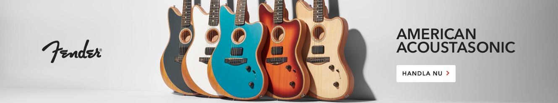 Fender Acoustasonic Guitars