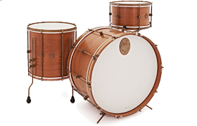 A & F mahonie Club drumkit