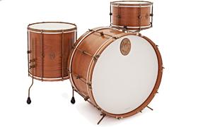 A & F mahoń Club Drum Kit