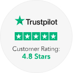 About Us Trustpilot Customer Rating Icon