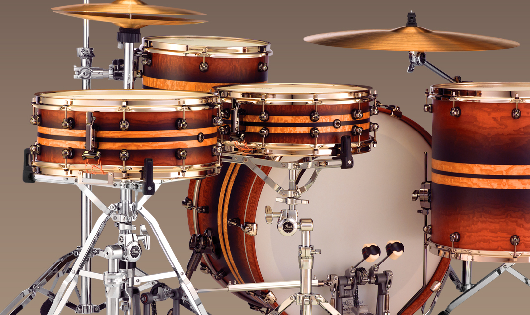 Pearl Masterworks Drum Kits and Custom Kits at Gear4music