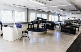 Gear4music Sweden Showroom
