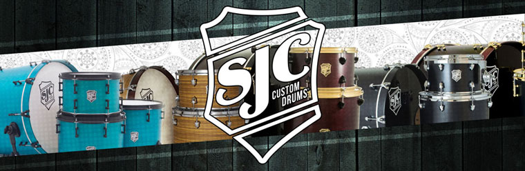 SJC custom Drums op Gear4music