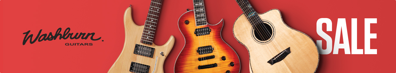 Washburn Sale at Gear4music