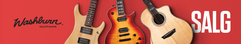 Washburn Acoustic Sale hos Gear4music