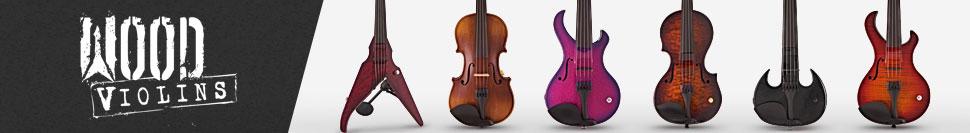 Wood Violins at Gear4music