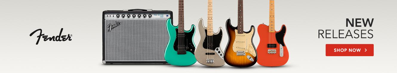 Nové vydania spoločnosti Fender