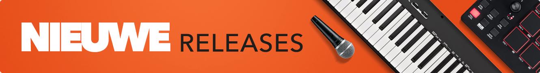 Nieuwe releases bij Gear4music