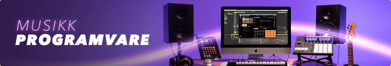 Musikkprogramvare hos Gear4music